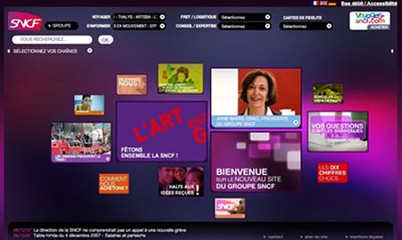Site Web SNCF