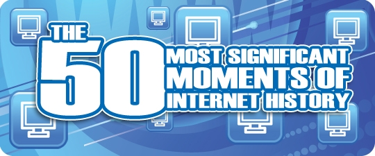L'histoire d'Internet en 50 dates clés