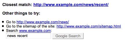 Le Rapport d'erreurs de Google Webmaster Tools
