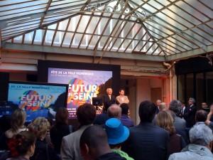 Discours Huchon Futur en Seine