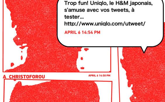 Uniqlo et sa stratégie Twitter