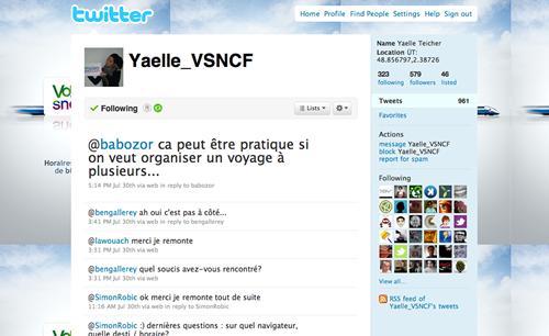 Yaelle Voyages SNCF