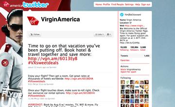 Twitter VirginAmerica