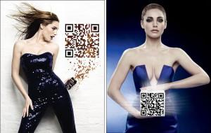 publicite QR code pepsi max model