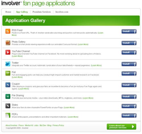 CMS involver applications