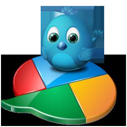 twitter et google logos