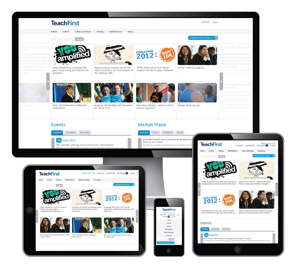 site responsive W3B