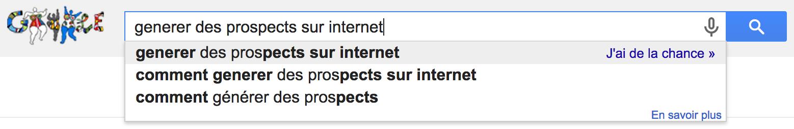 generer des prospects sur internet