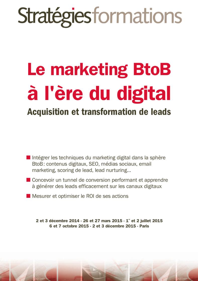 Le marketing BtoB à l'ère du digital