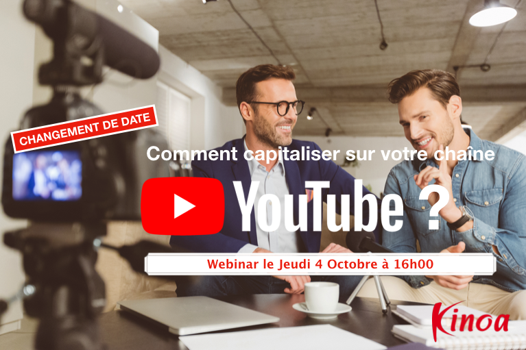YouTube - Jeudi 4 Octobre - 16h