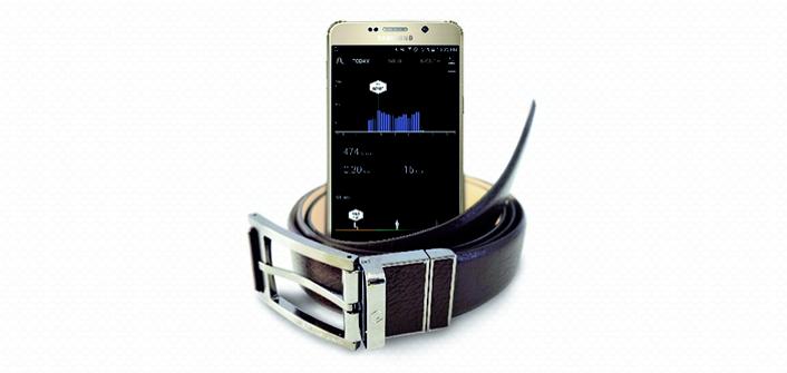2016 Samsung CES ceinture connectée