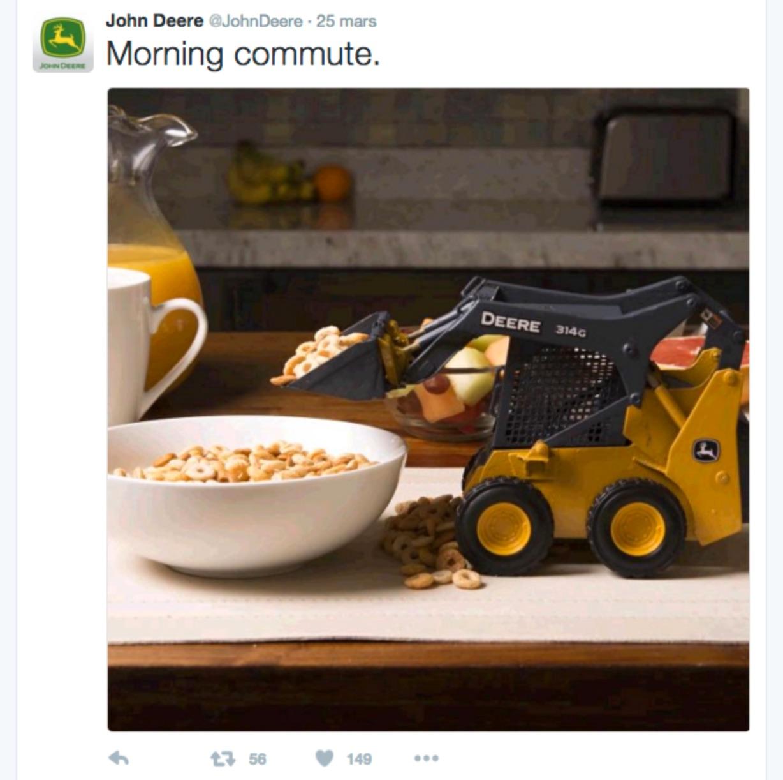 Marketing de contenu John Deere