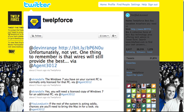 Twelpforce de Best Buy sur Twitter