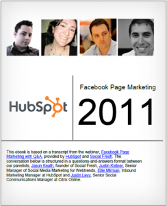 ebook Facebook Hubspot