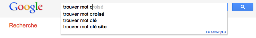 exemple google suggest